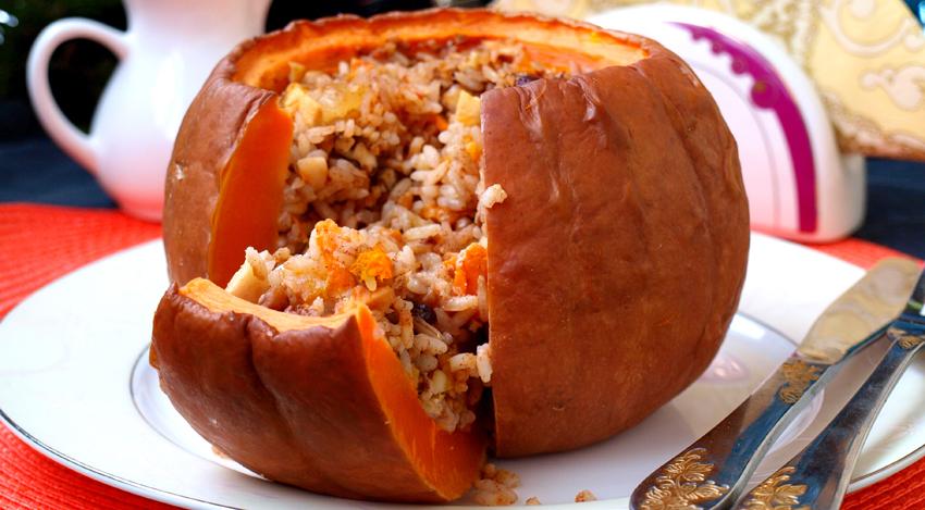 Армянское блюдо из тыквы хапама рецепт