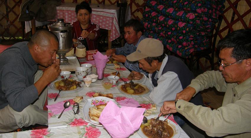 Рецепты блюд киргизской кухни